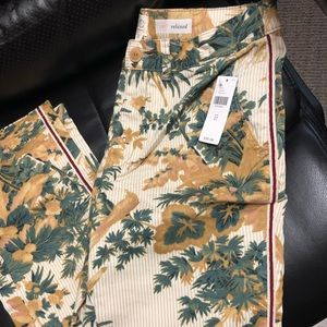 NWT Anthropologie relaxed chino pants